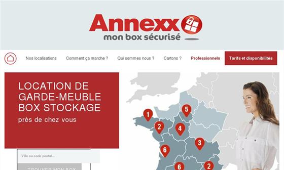Annexx, la location de garde-meuble et de box de stockage près de chez vous !