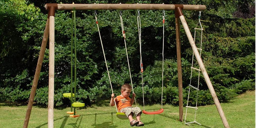 Les jeux extérieurs pour les enfants à ajouter dans votre jardin
